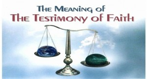 The Meaning and Conditions of the Testimony of Faith