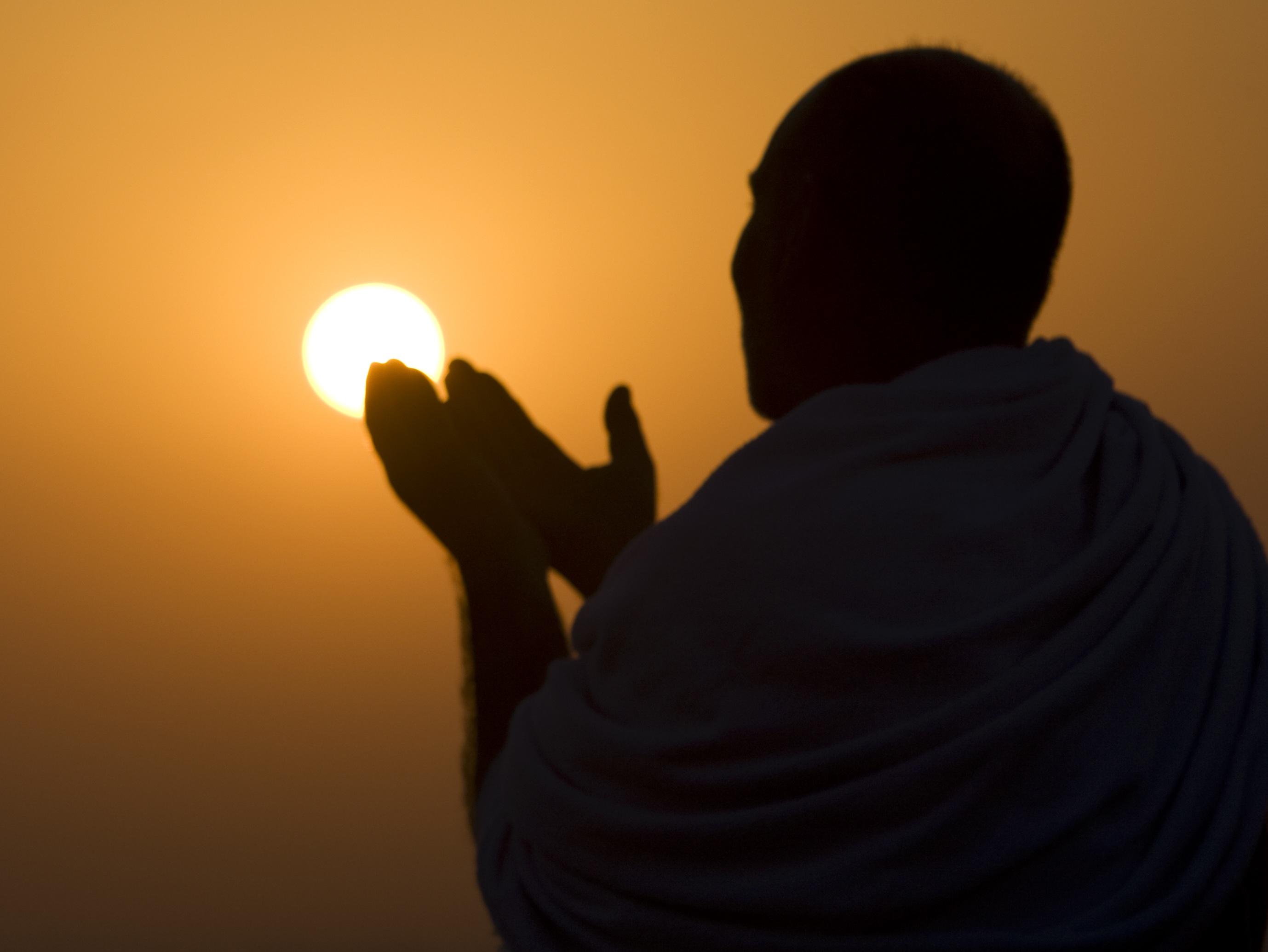 Muslim pilgrim