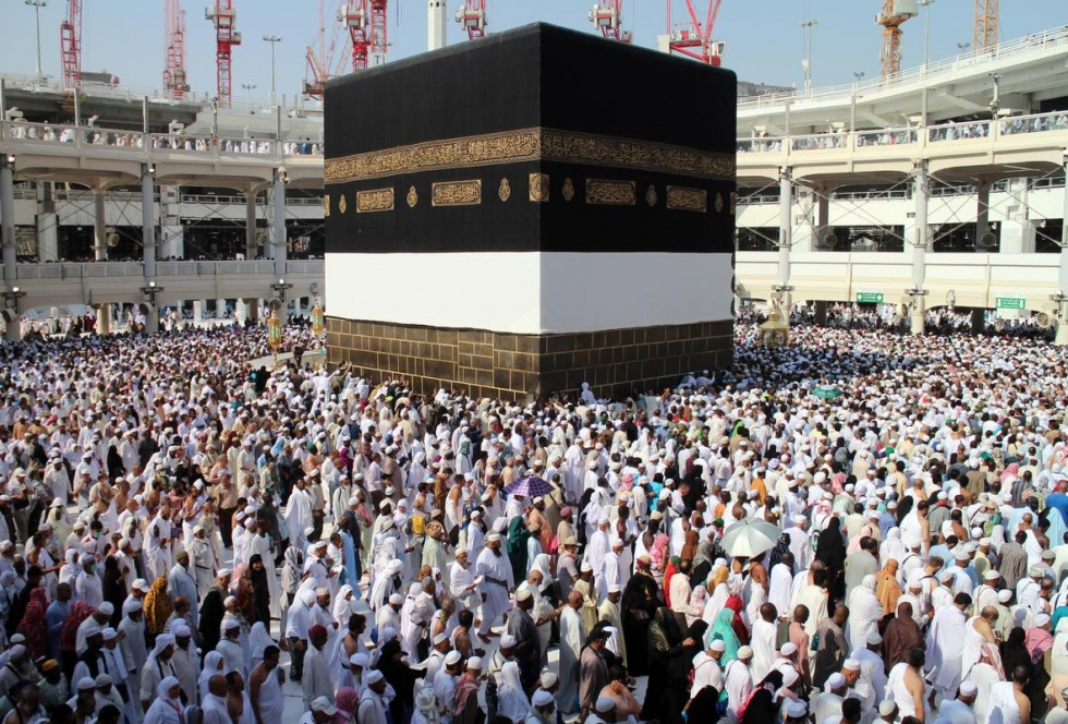 pilgrims to the kaabah