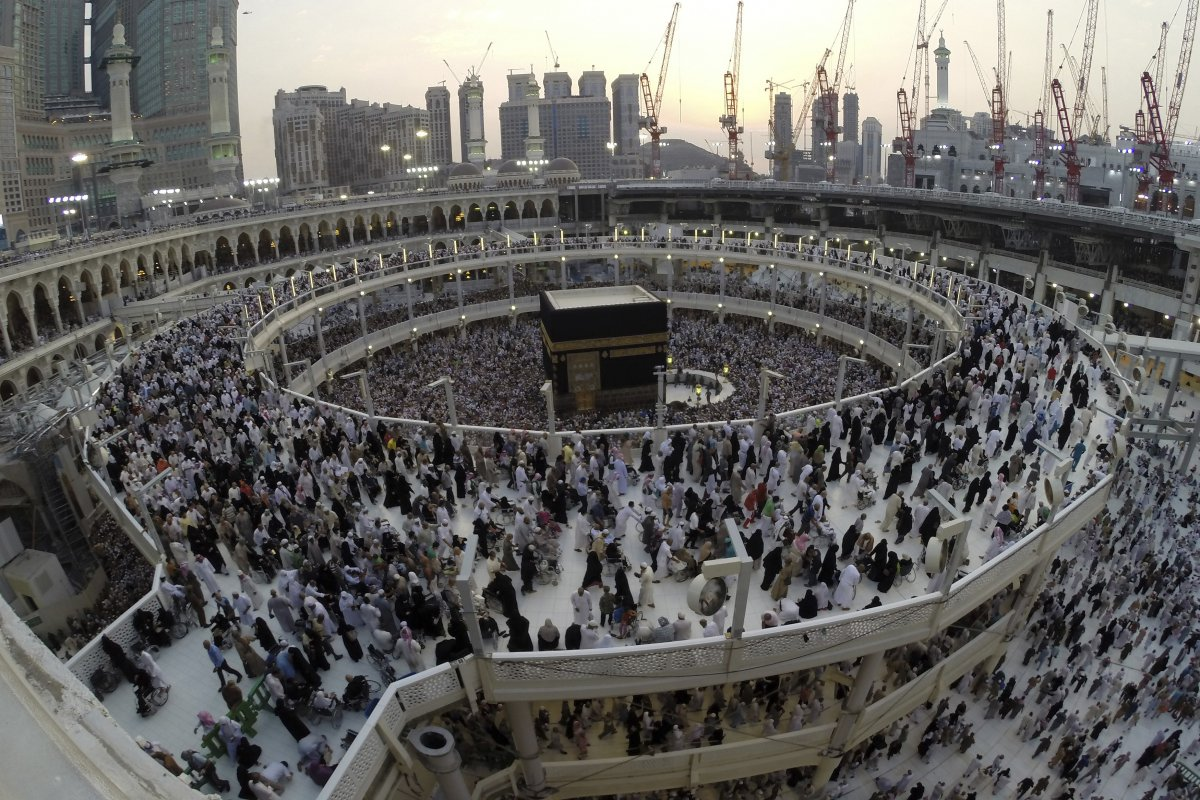 Once one puts one's first foot in Mecca, one is get amazed not only by the enormous numbers of people but also by the diversity of their colors, genders, ages and languages.