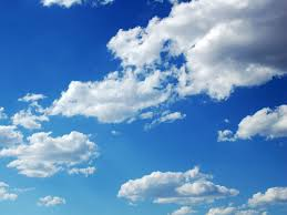 Among the elements of the environment associated with water are the clouds that carry water and then rain heavily on the earth so that people and cattle can drink that water.