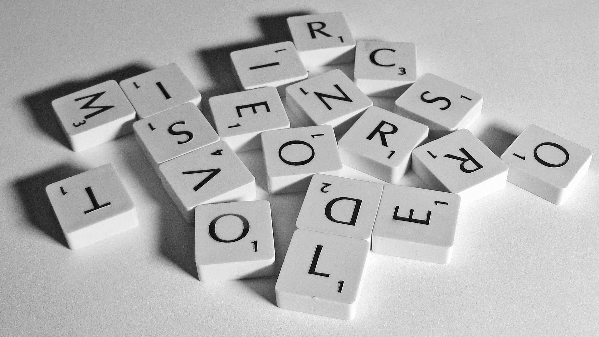 words - letters