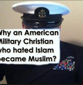 How Did an American Military Christian Become Muslim?