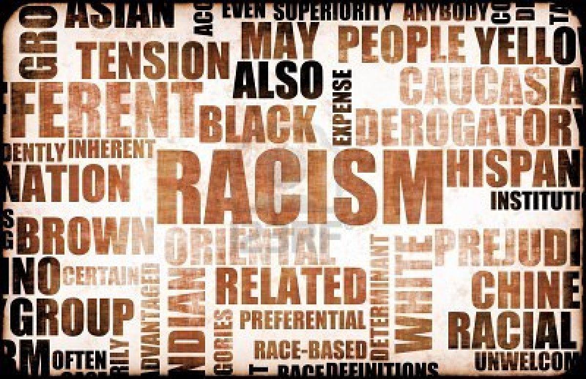 Racism written