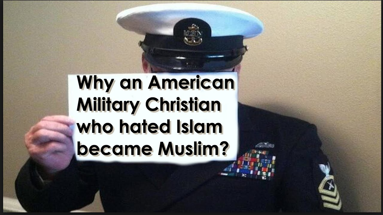 How Did an American Military Christian Become Muslim