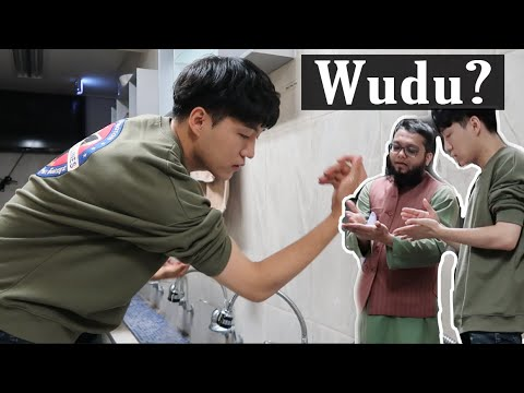 Daud Kim Learns How to Make Wudu